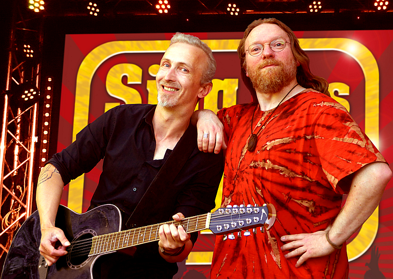 Sing das Ding! Marcus Friedeberg und Marco Neumann Musiker